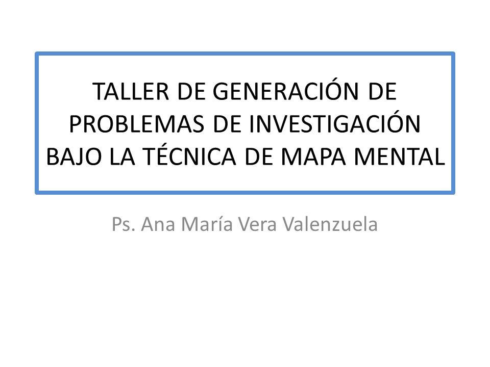 Ps. Ana María Vera Valenzuela