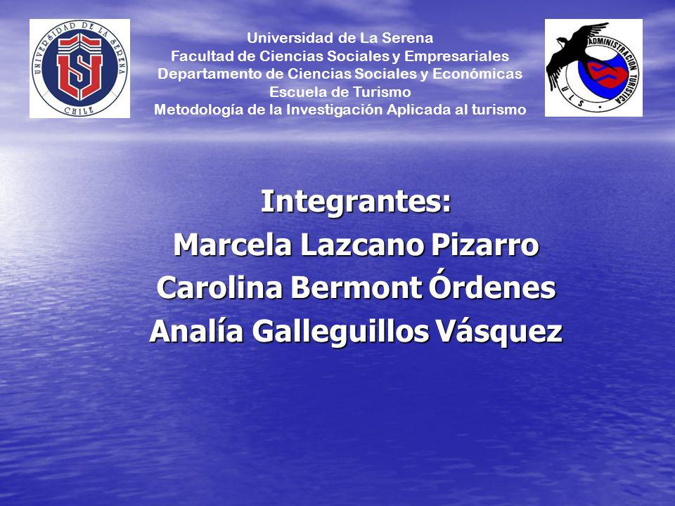 Marcela Lazcano Pizarro Carolina Bermont Órdenes