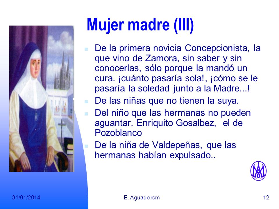 Mujer madre (III)