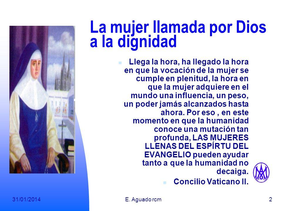 La mujer llamada por Dios a la dignidad