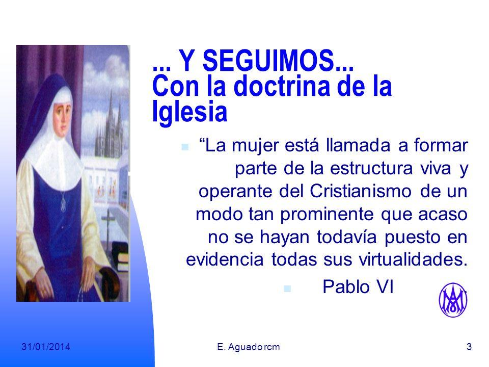 ... Y SEGUIMOS... Con la doctrina de la Iglesia