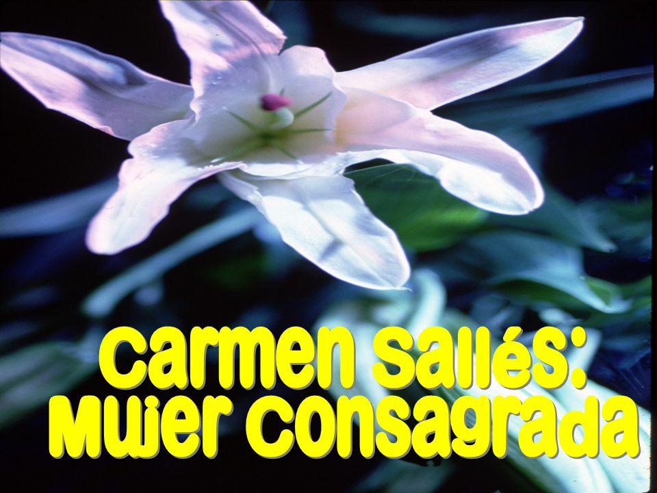 Carmen Sallés: Mujer Consagrada 24/03/2017 E. Aguado rcm