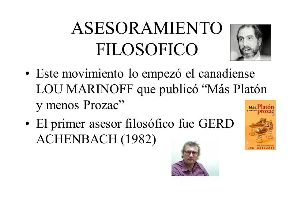 ASESORAMIENTO FILOSOFICO
