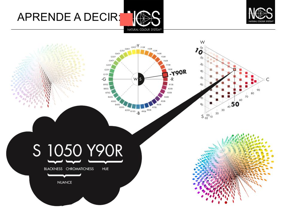 APRENDE A DECIR: Scientific Colour System