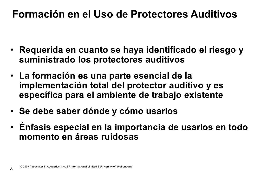 Formación en el Uso de Protectores Auditivos