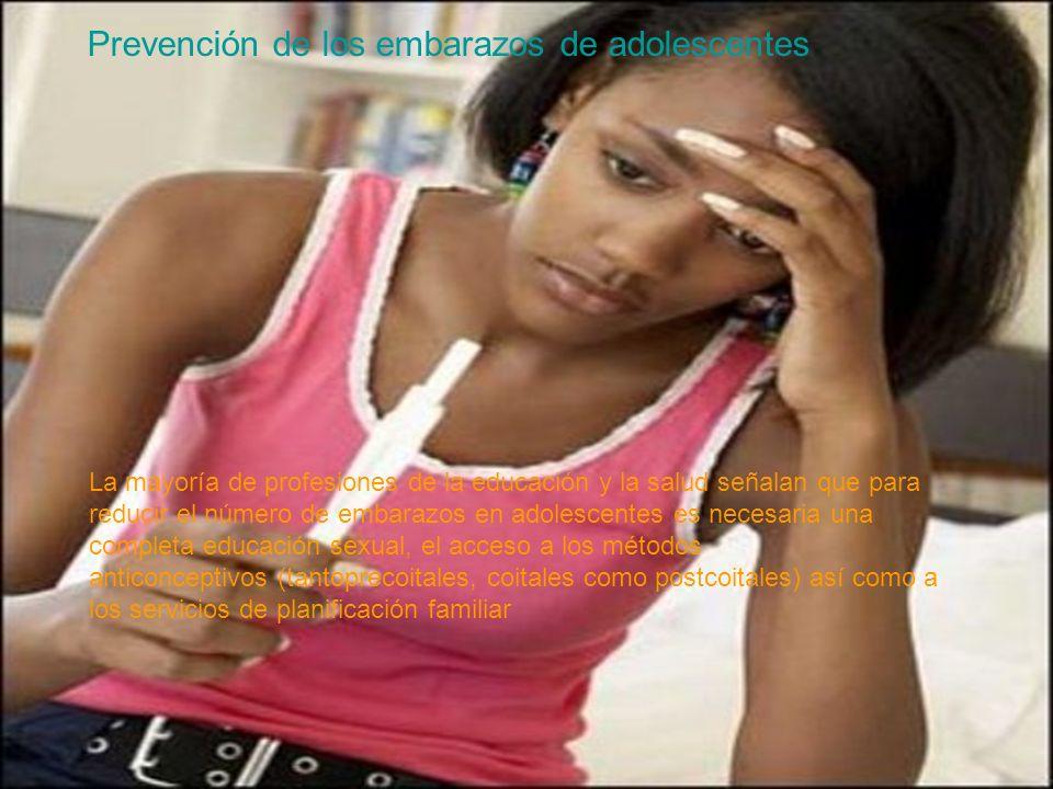 Prevención de los embarazos de adolescentes