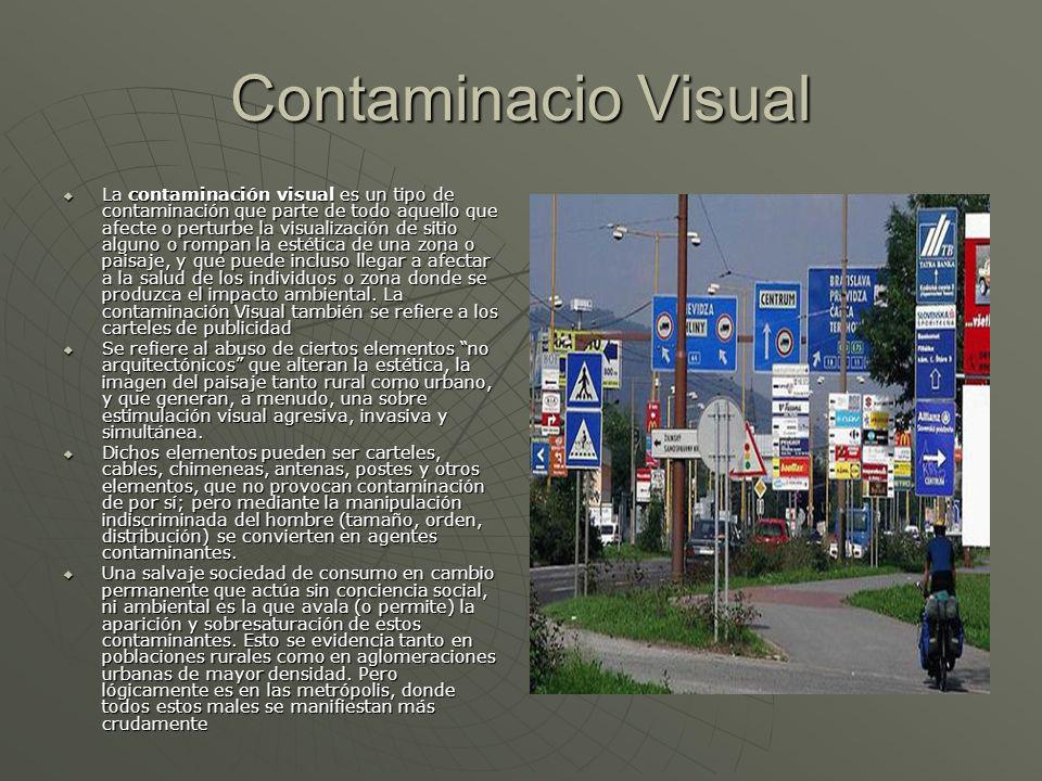 Contaminacio Visual