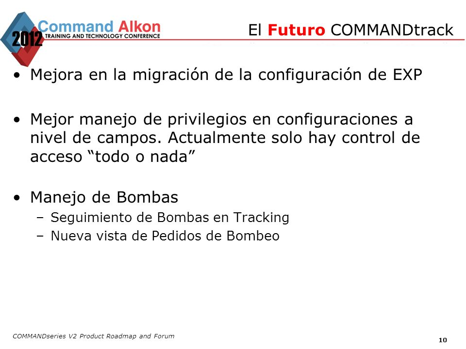 El Futuro COMMANDtrack