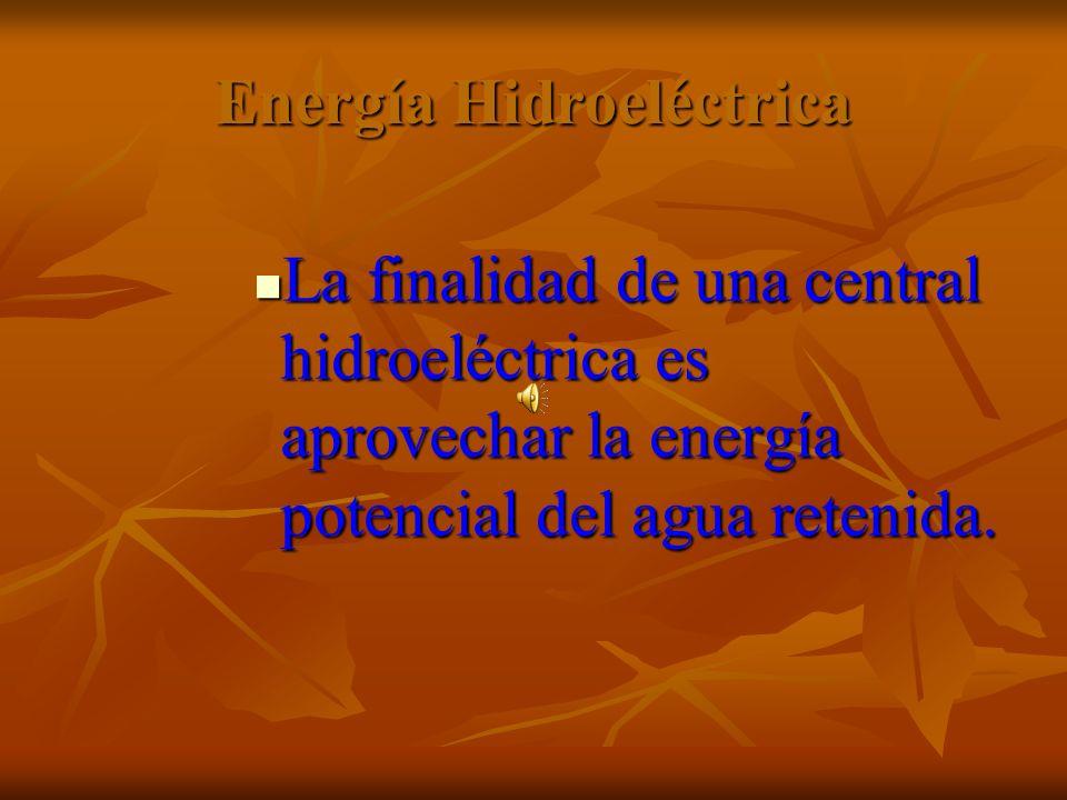 Energía Hidroeléctrica