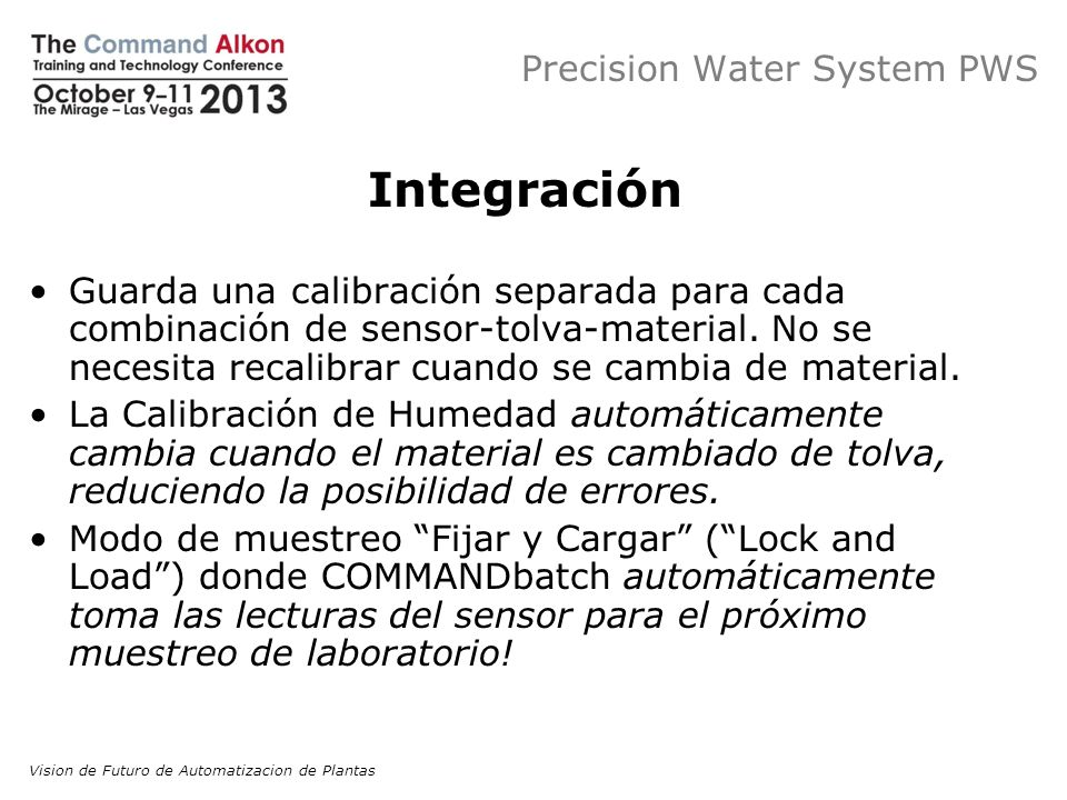 Precision Water System PWS