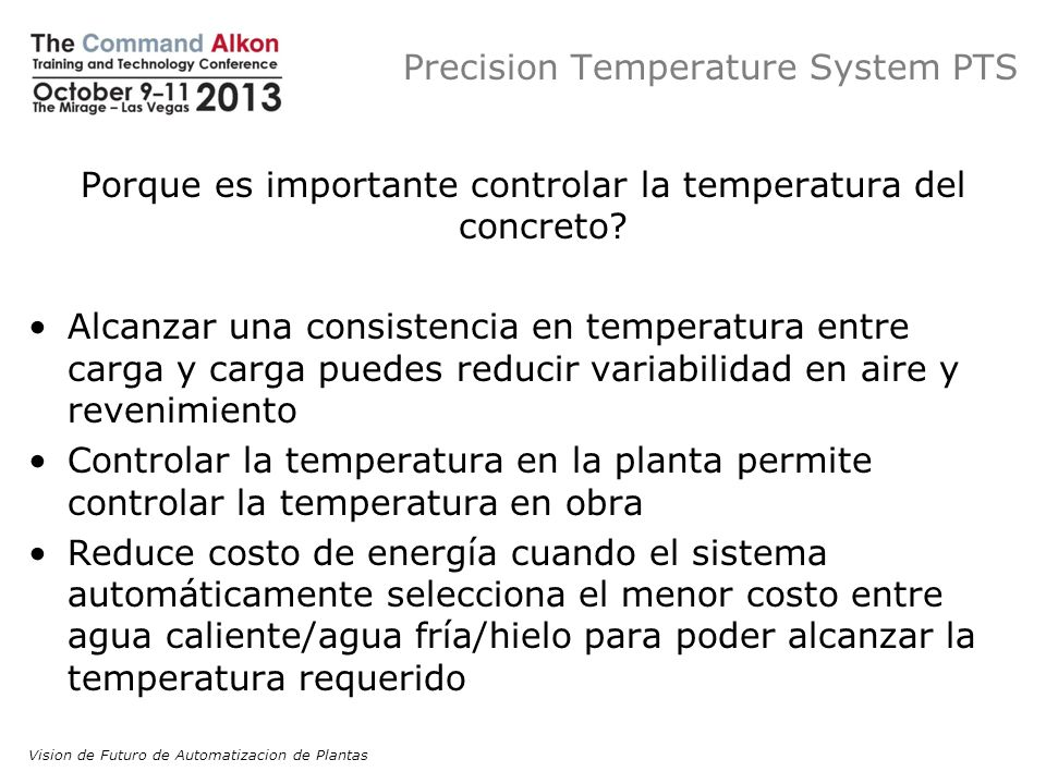 Precision Temperature System PTS