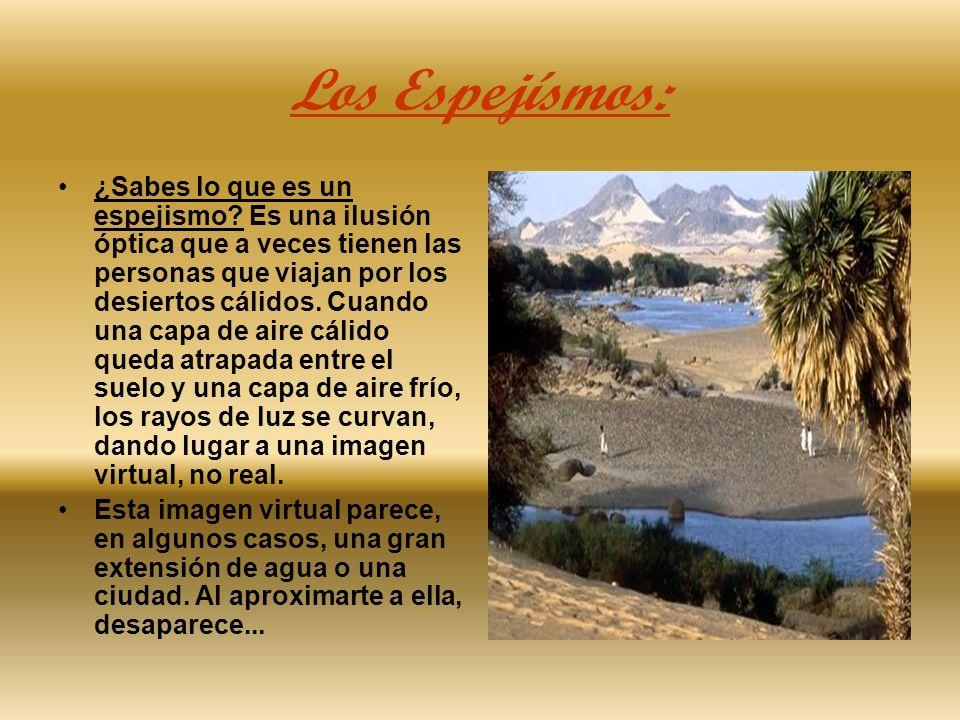 Los Espejísmos: