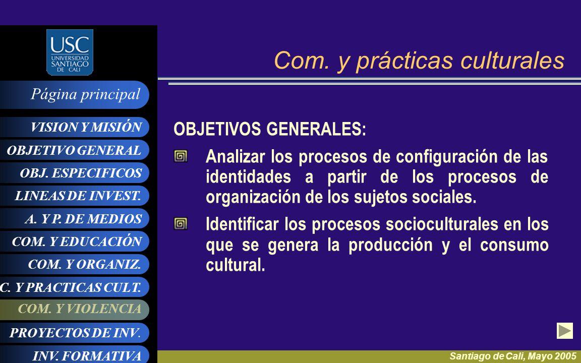 Com. y prácticas culturales