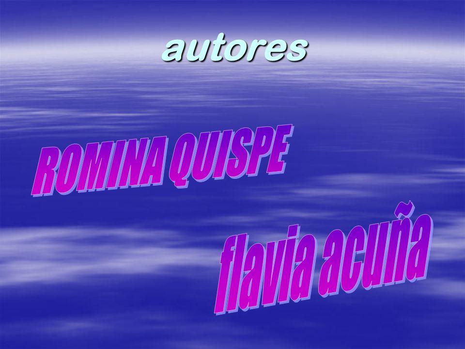 ROMINA QUISPE flavia acuña