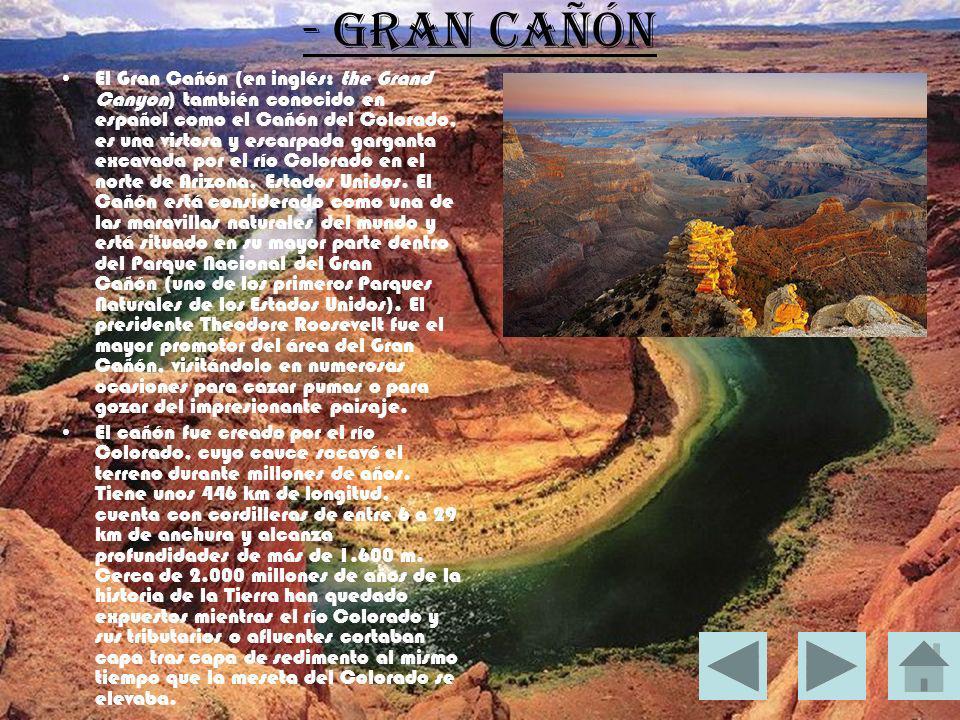 - Gran Cañón