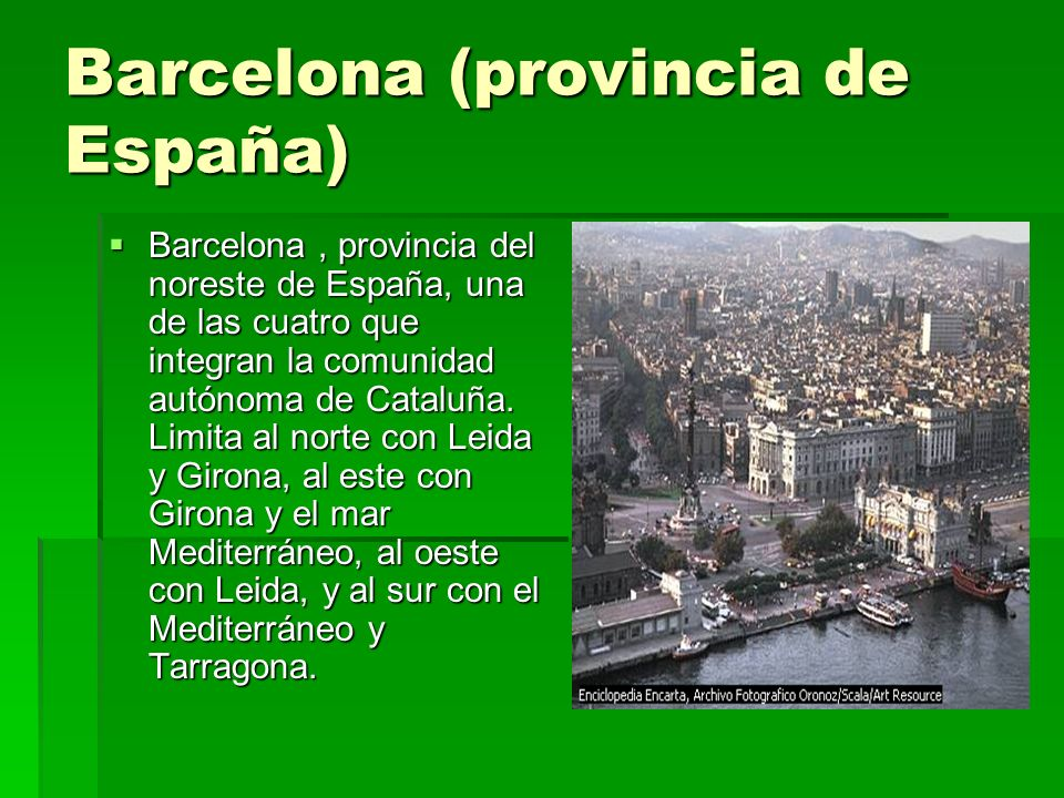 Barcelona (provincia de España)