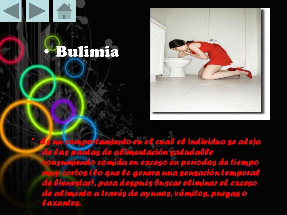• Bulimia