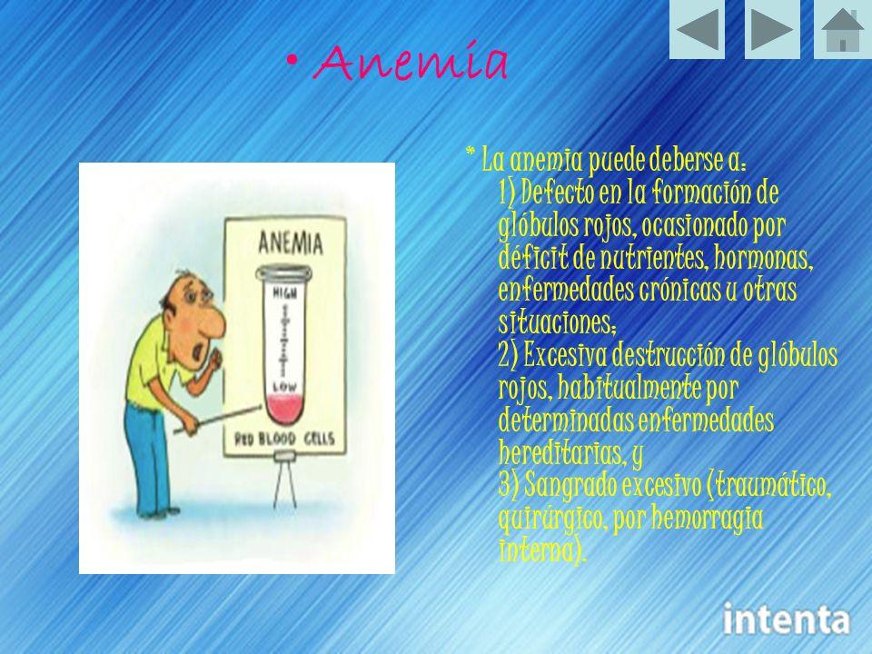 • Anemia