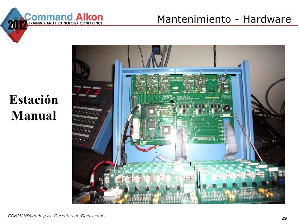 Mantenimiento - Hardware