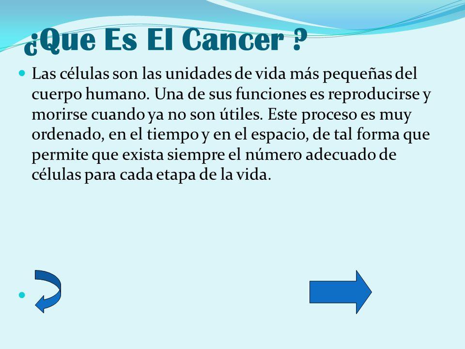 ¿Que Es El Cancer