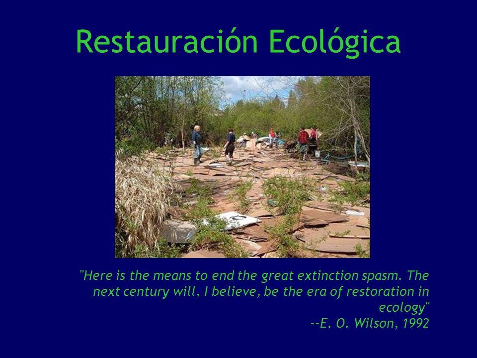 Restauración Ecológica