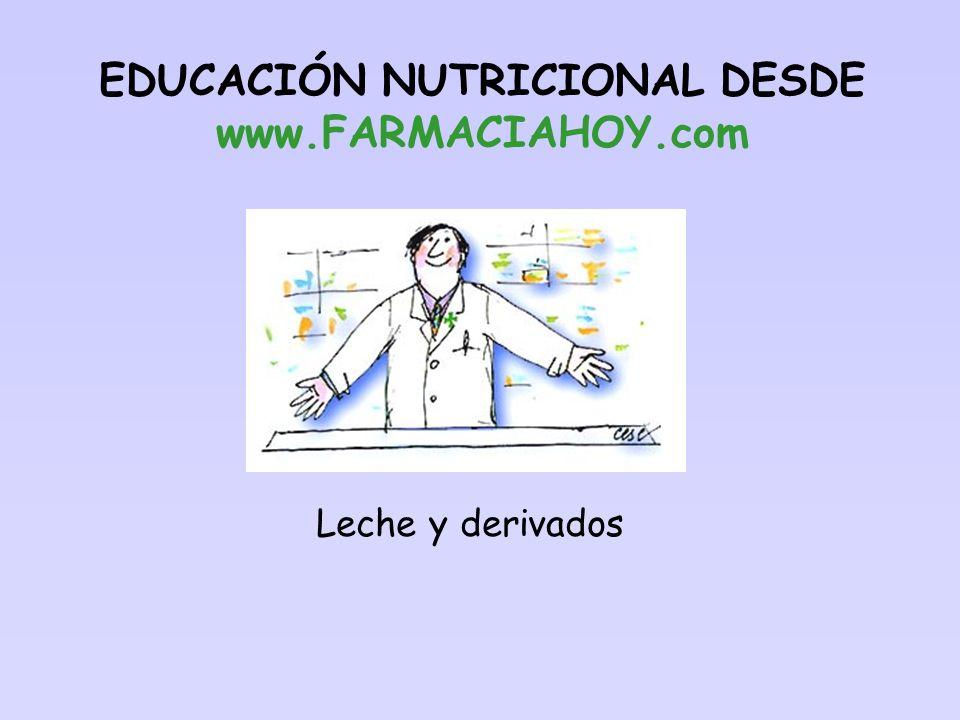 EDUCACIÓN NUTRICIONAL DESDE