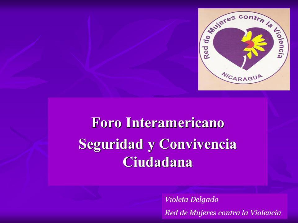 Foro Interamericano Seguridad y Convivencia Ciudadana