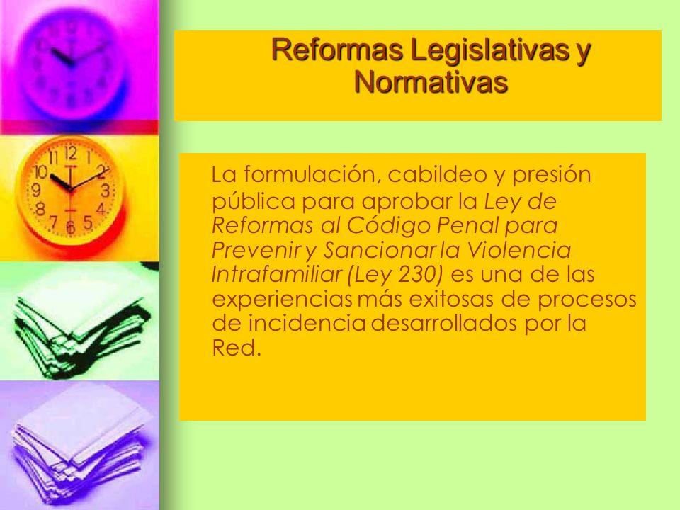 Reformas Legislativas y Normativas