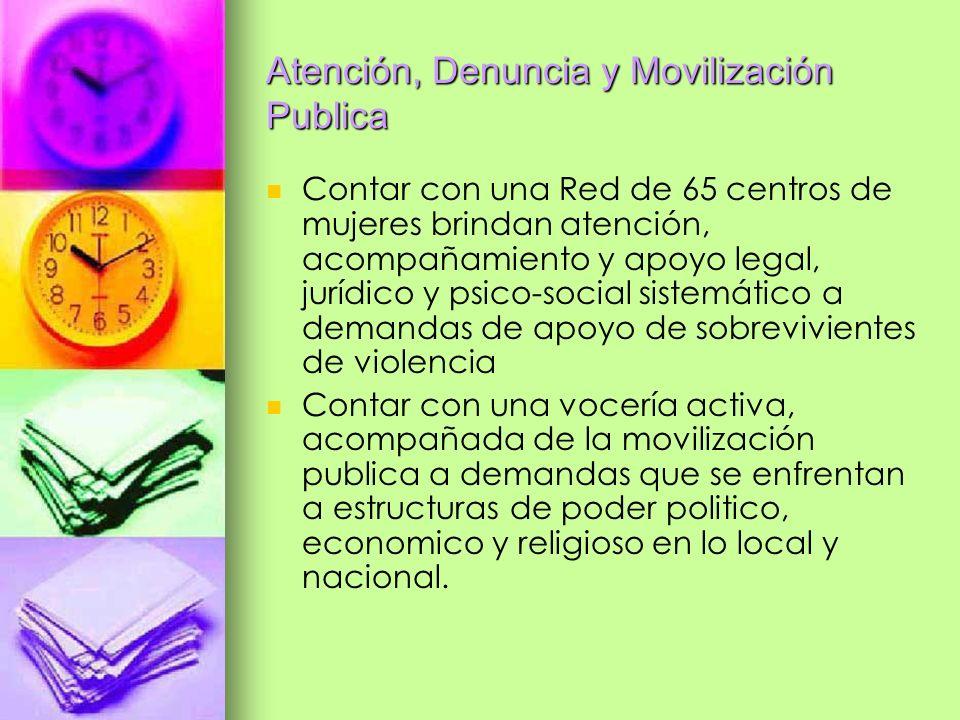Atención, Denuncia y Movilización Publica