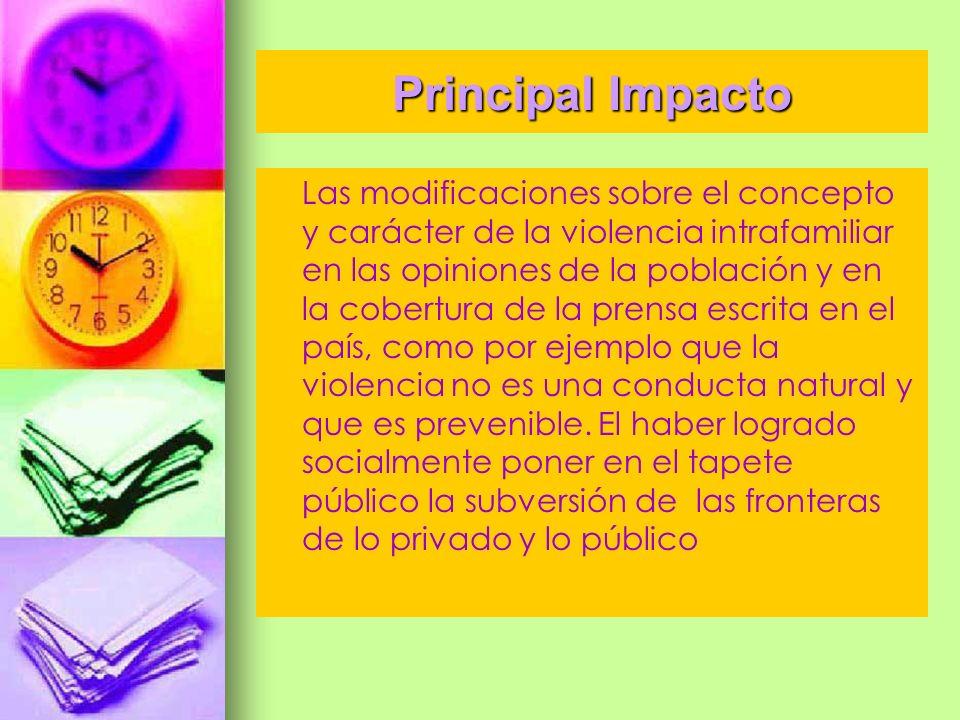 Principal Impacto