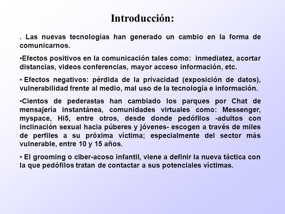 Introducción: . Las nuevas tecnologías han generado un cambio en la forma de comunicarnos.