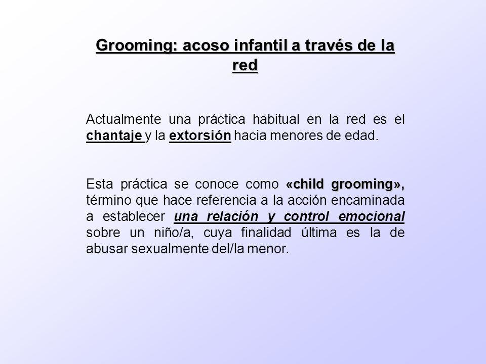 Grooming: acoso infantil a través de la red