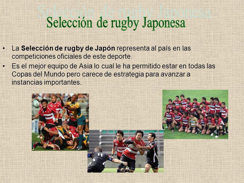Selección de rugby Japonesa