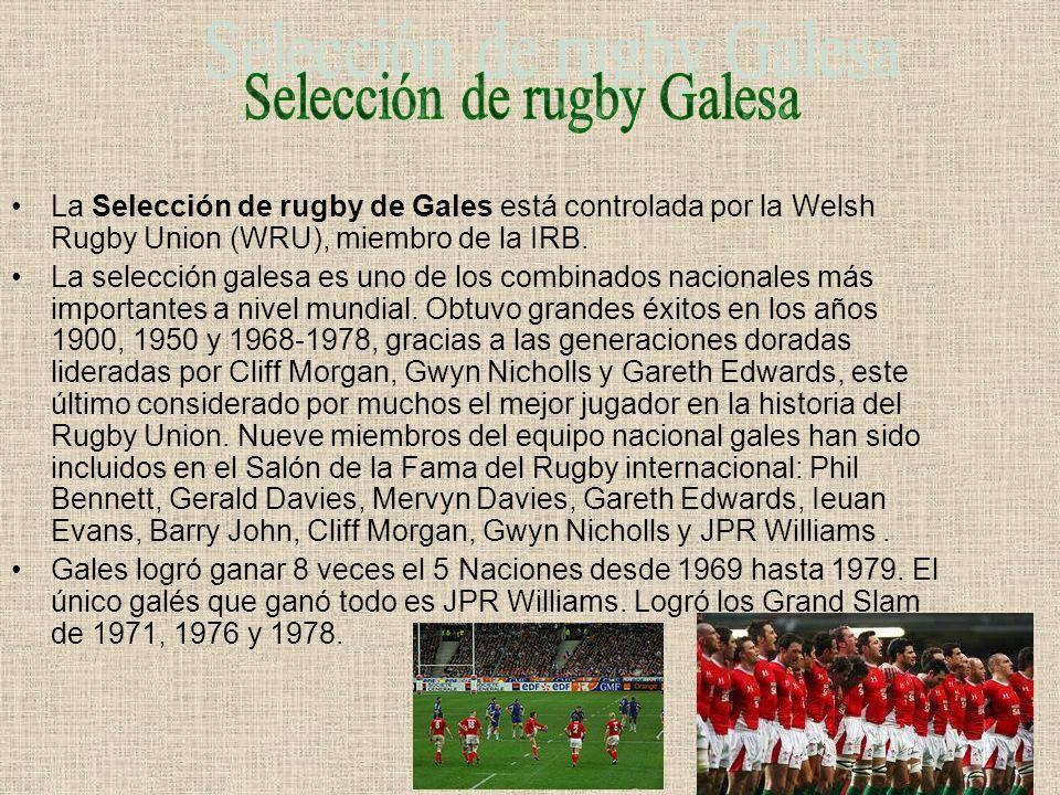 Selección de rugby Galesa