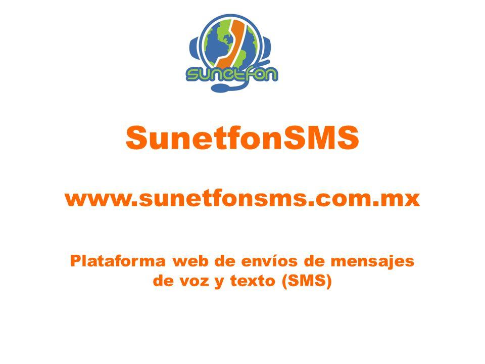 Plataforma web de envíos de mensajes