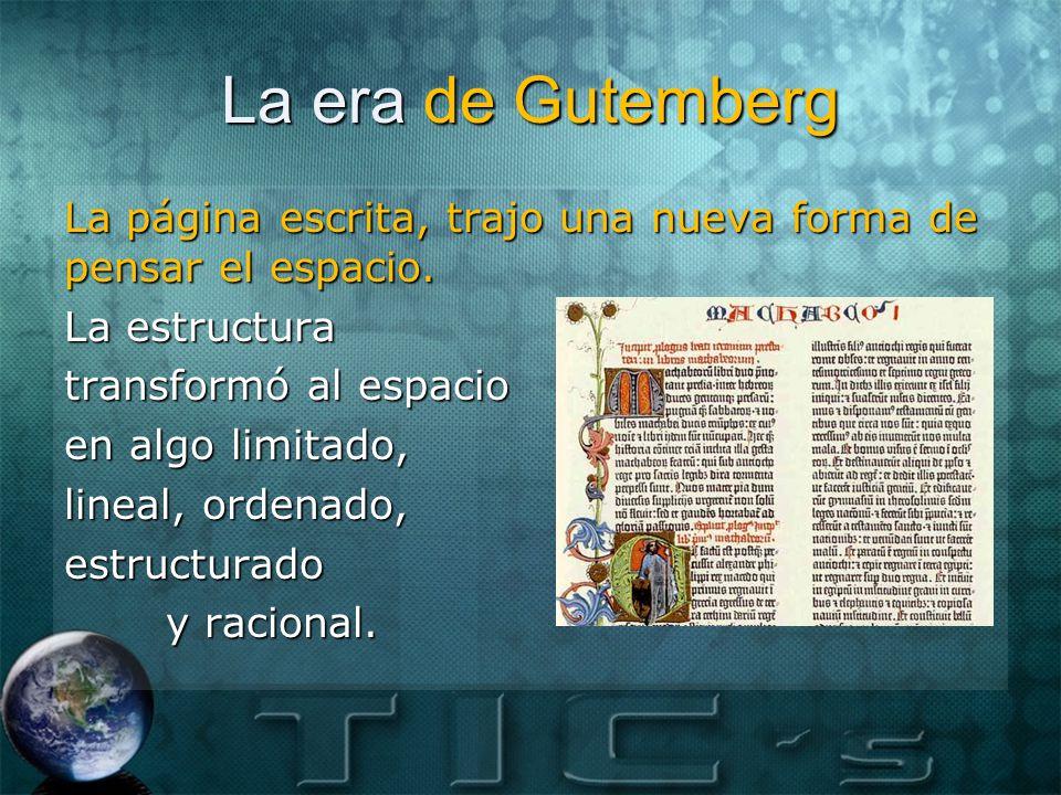La era de Gutemberg
