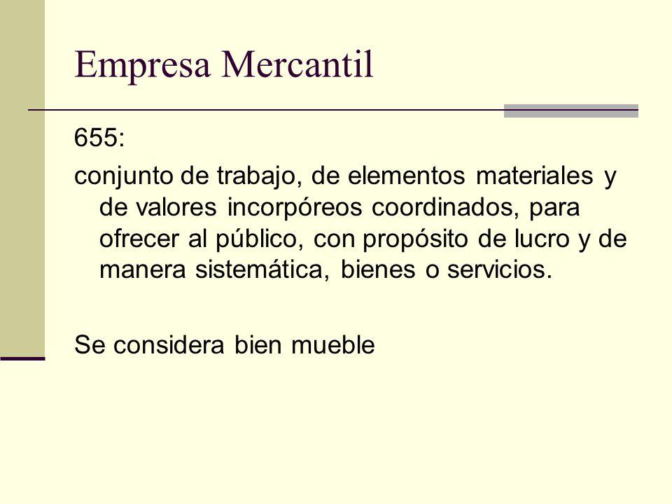 Empresa Mercantil 655: