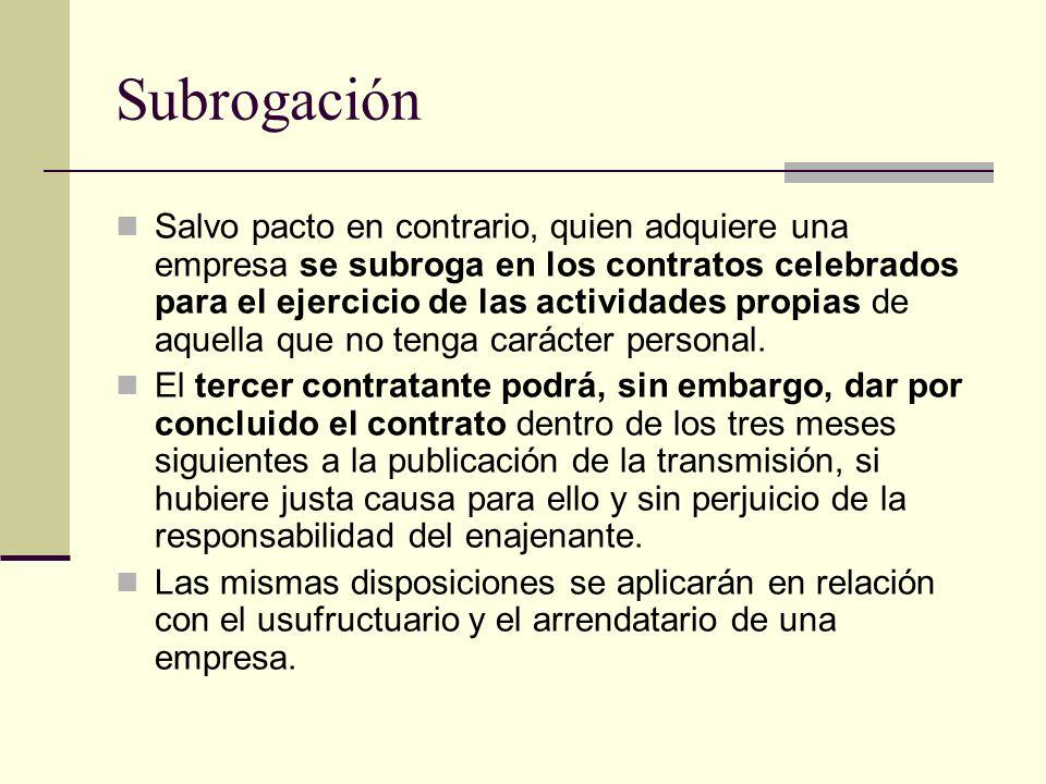 Subrogación