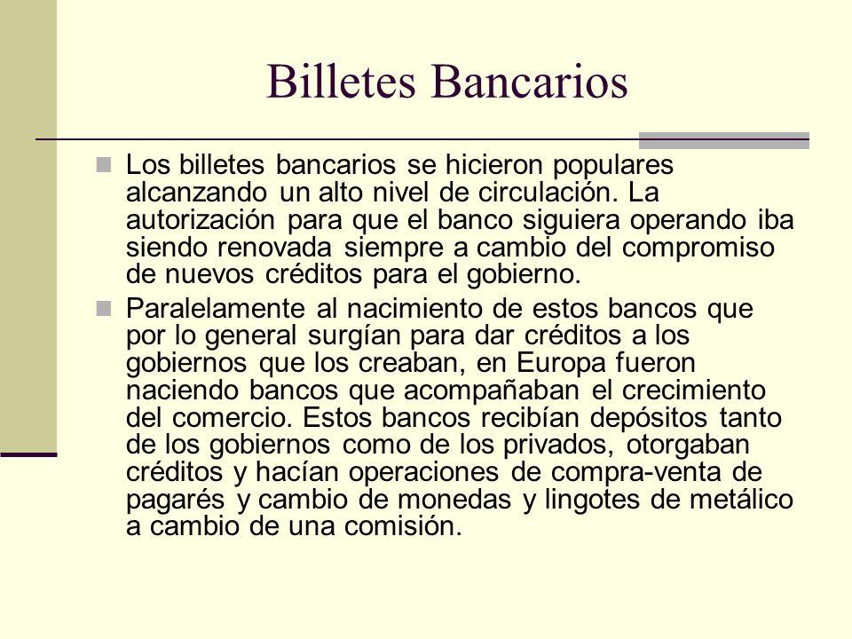 Billetes Bancarios