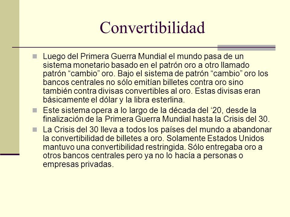 Convertibilidad