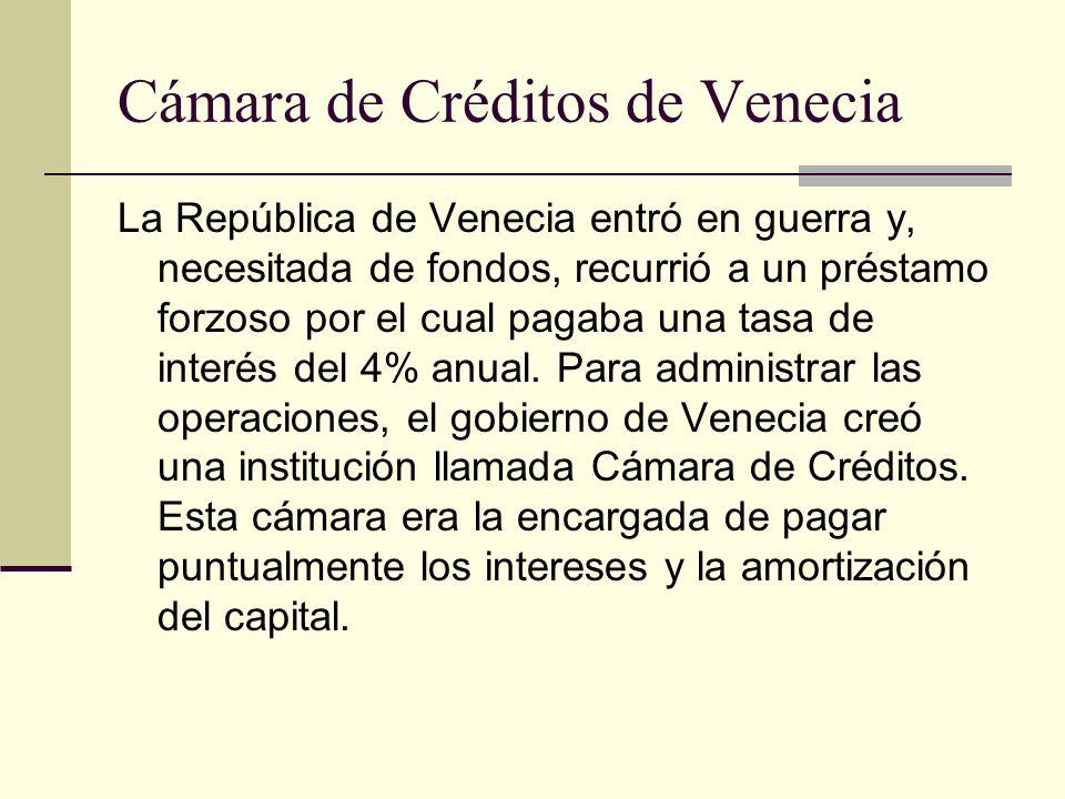 Cámara de Créditos de Venecia