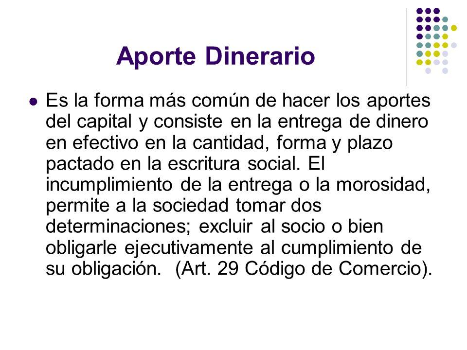 Aporte Dinerario