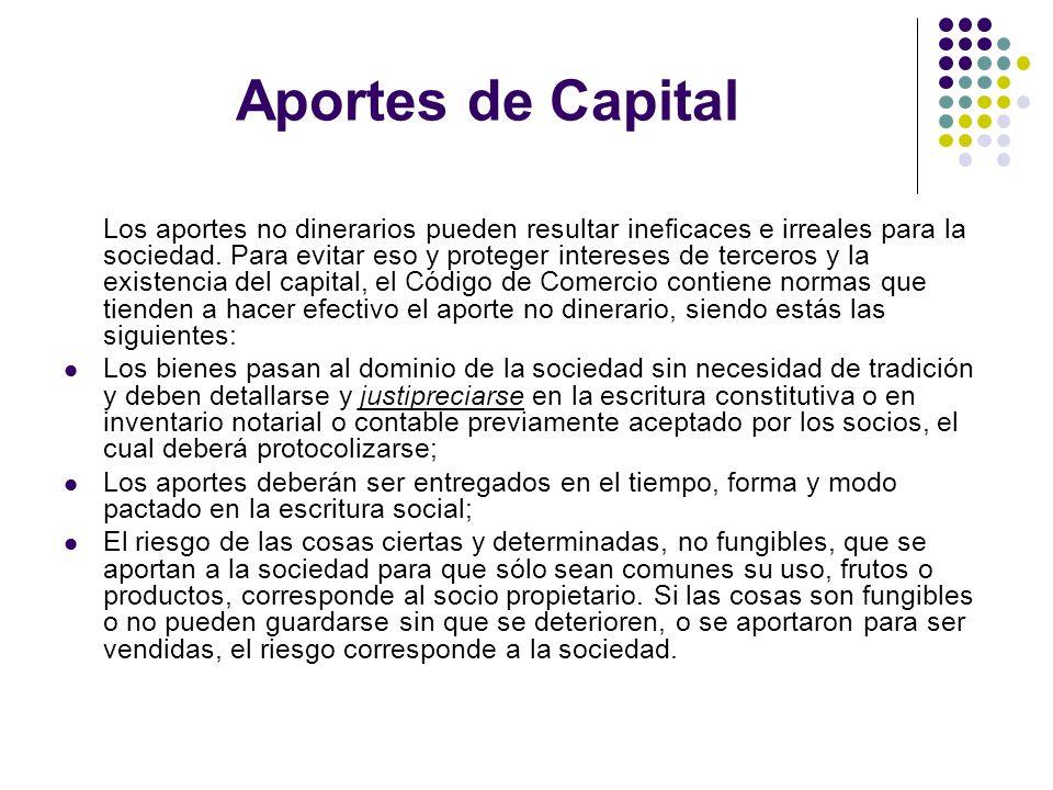 Aportes de Capital