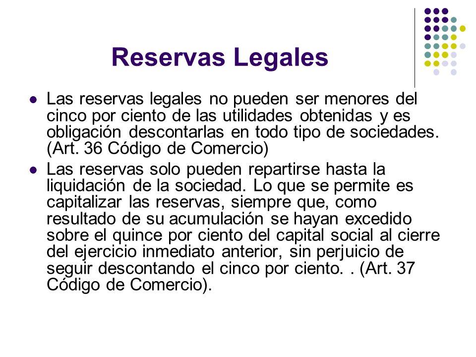 Reservas Legales