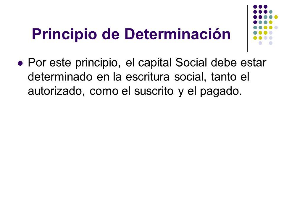 Principio de Determinación