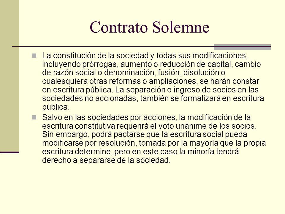 Contrato Solemne