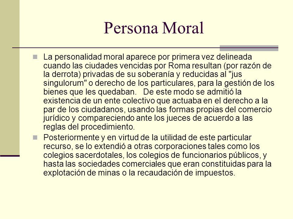 Persona Moral