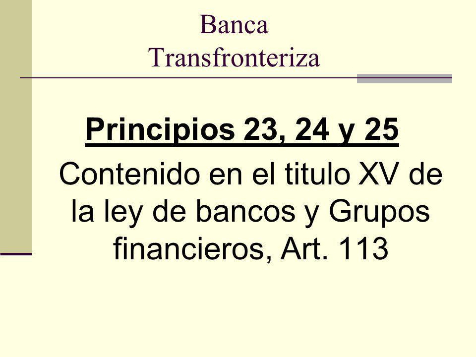 Banca Transfronteriza