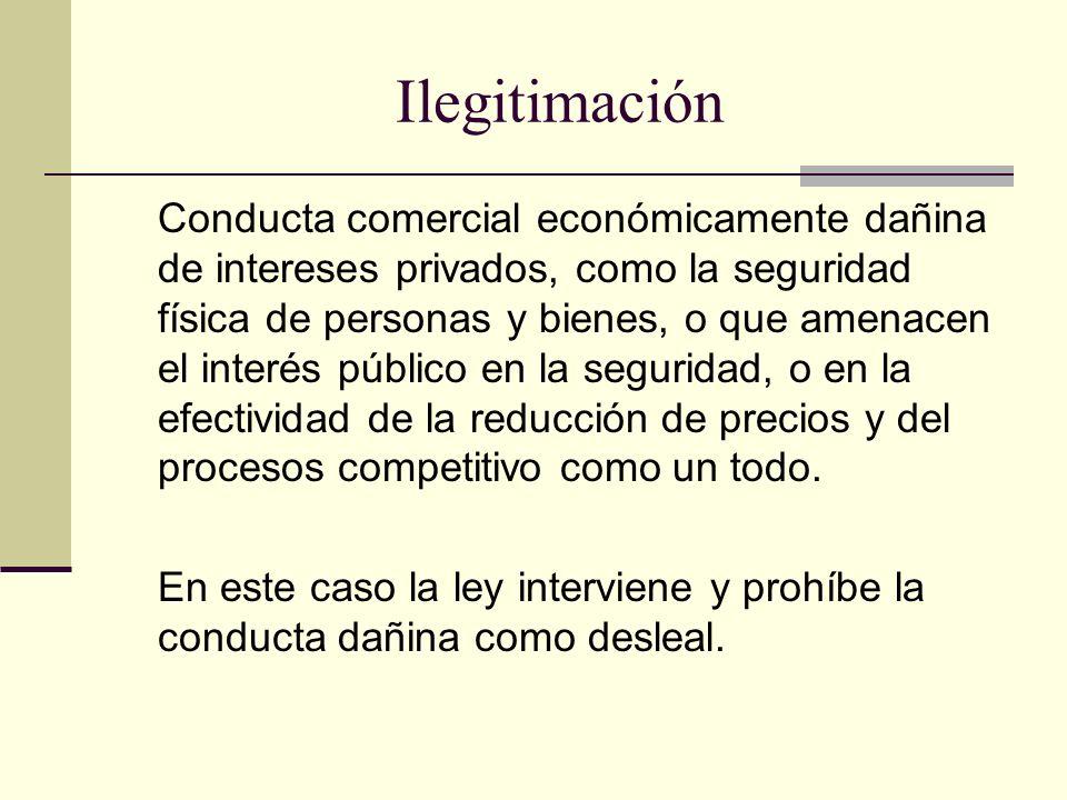 Ilegitimación