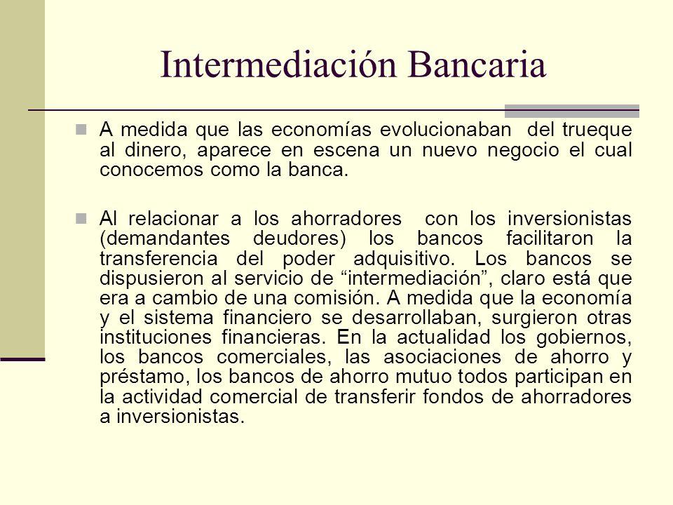 Intermediación Bancaria